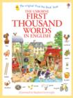 First Thousand Words In English - Book