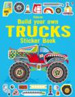 Build Your Own Trucks Sticker Book - Book