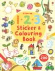 123 Sticker and Colouring Book - Book