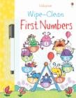 Wipe-clean First Numbers - Book