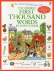 First Thousand Words in Portugese - Book