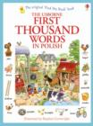 First Thousand Words in Polish - Book