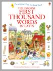 First Thousand Words in Latin - Book