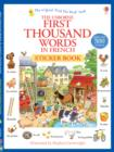 First Thousand Words in French Sticker Book - Book
