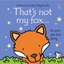That's Not My Fox - Book
