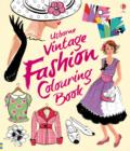 Vintage Fashion Colouring Book - Book