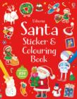 Santa Sticker and Colouring Book - Book