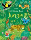 First Sticker Book Jungle - Book