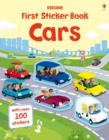 First Sticker Book Cars - Book