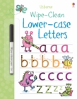 Wipe-Clean Lower-Case Letters - Book