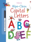 Wipe-clean Capital Letters - Book