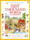 First Thousand Words in German - Book