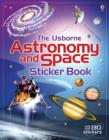 Astronomy and Space Sticker Book - Book
