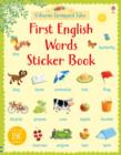 Farmyard Tales First English Words Sticker Book - Book