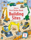 First Sticker Book Building Sites - Book