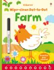Wipe Clean Dot-to-Dot Farm - Book