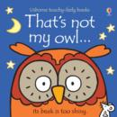 That's Not My Owl - Book