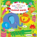 Baby's Very First Play Book Animal Words - Book