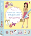 Sticker Dolly Dressing Design Studio Party Clothes - Book