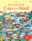 First Sticker Book Cities of the World - Book