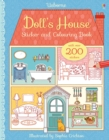 Doll's House Sticker and Colouring Book - Book