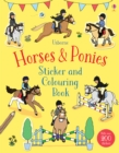 Horses & Ponies Sticker and Colouring Book - Book