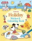 Holiday Sticker and Colouring Book - Book