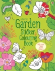 Garden Sticker and Colouring Book - Book
