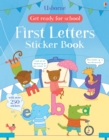Get Ready for School First Letters Sticker Book - Book