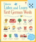 Listen and Learn First German Words - Book