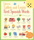 Listen and Learn First Words in Spanish - Book