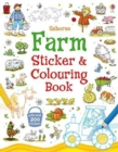 Farm Sticker and Colouring Book - Book