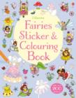 Fairies Sticker & Colouring Book - Book