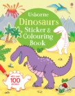 Dinosaurs Sticker & Colouring Book - Book