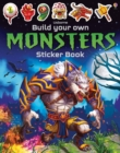 Build Your Own Monsters Sticker Book - Book