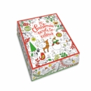 20 Christmas Cards to Colour - Book