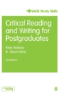 Critical Reading and Writing for Postgraduates - Book