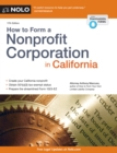 How to Form a Nonprofit Corporation in California - eBook