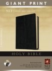 NLT Holy Bible, Giant Print, Pink/Brown - Book