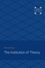 The Institution of Theory - eBook