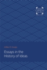 Essays in the History of Ideas - Book