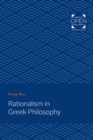 Rationalism in Greek Philosophy - Book