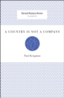 A Country Is Not a Company - eBook