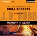 Memory in Death - eAudiobook