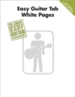 Easy Guitar Tab White Pages - Book