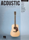 Acoustic : 33 Top Guitar Hits - Book