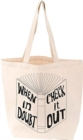 Reading Is My Cardio Tote - Book
