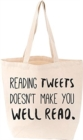 Twitter Tote - Book