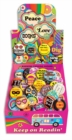 Peace, Love and Books Button Box - Book