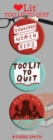 Too Lit to Quit 3 Badge Set - Book